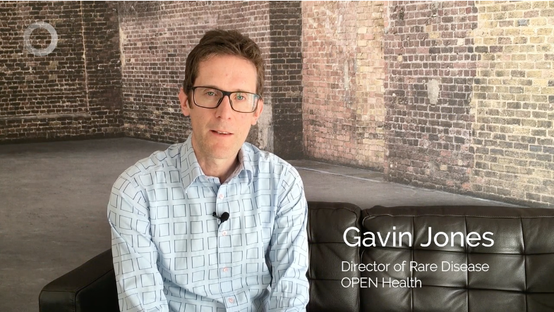 Video screenshot of Gavin Jones.
